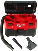 Milwaukee Wet Dry Vacuum Cleaner Cordless 0880-20 M18 Blower Port Water Lift