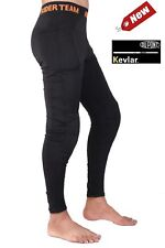 Motorcycle Motorbike Unisex Leggings Made with DuPont™ Kevlar® Full Lining