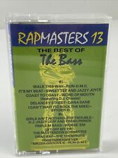 Various Rapmasters 13 The Best Of The Bass Cassette Run DMC Aerosmith Spyder D