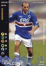FOOTBALL CHAMPIONS 2003/2004 - GIULIO FALCONE - 066/80 - SAMPDORIA