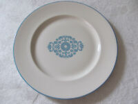 Franciscan China Medallion Blue-Blue Center Design-Dinner Plate(s)-Up to 8 Avail