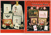 CROSS STITCH CHRISTMAS LEAFLET  (you choose)
