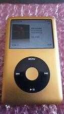 GOLD iPod Classic 7th generazione 256GB Micro SDXC & NUOVO 2000mah BATTERIA