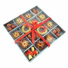 Christmas Tree Hanging Ornament Hand Crafted Decorations Xmas Party Supply 36pcs