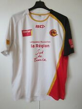 Maillot rugby à XIII DRAGONS CATALANS camiseta shirt ISC blanc XL
