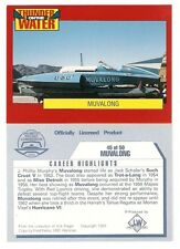 1992 Muvalong Unlimited Hydroplane Trading Card #45