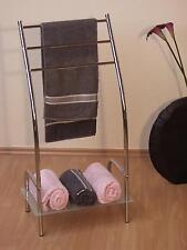 Handtuchhalter mit Ablage Handtuchständer Handtuchstange Standhandtuchhalter