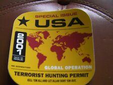 La Hitmen-TerrorisT Hunting Permit-Sticker