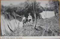 1910 Postcard: River Scene- Appleton, Minnesota Minn MN