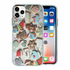 For Mobile Phone TPU Back Case Cover Gingerbread Printed - T2773
