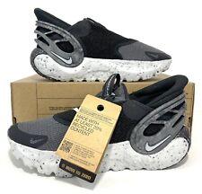 Nike Glide Flyease Shoe Mercury Grey Black Grey Fog DN4919-001 Mens Size 9