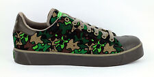 NEW adidas steel toe Safety Shoe Stan Smith trainers green camo work US 8 UK 7.5