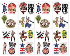 WWE Party Temporary Tattoos ~ Birthday Decorations Party Favors Supplies ~ 32ct