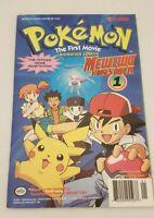 Pokemon The First Movie Comic Mewtwo Strikes BackNumber 1 Rare 1998