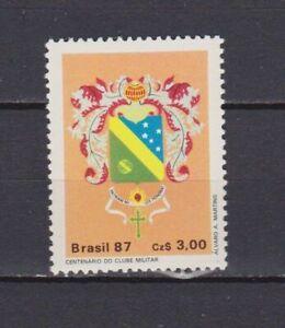 S19211) Brasil Brazil 1987 MNH New Military Club 1v