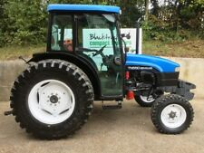 NEW HOLLAND TN55D SMALL / COMPACT TRACTOR, 55HP, TURF TYRES, ROAD REGISTERED