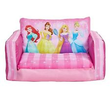 Official Disney Princesa Flip Out Sofa Rosa nuevo diseño Belle Ariel Cenicienta