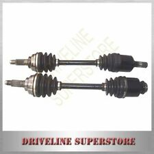 A DRIVER'S & PASSENGER`S SIDE CV JOINT DRIVE SHAFTS  MAZDA 626 GD GV 1988-1991