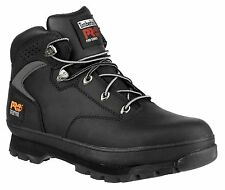 Timberland Pro Euro Hiker 2g Black Steel Safety BOOTS UK 10 -
