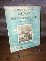 Histoire de la Marine Française par Claude Farrère - La Course et les Corsaires