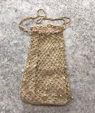 Hand Crocheted Vintage Flapper Bag