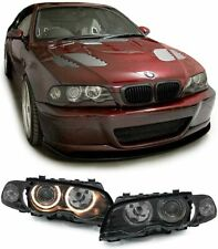 Fari anteriori Angel Eyes  BMW serie 3 E46 Coupe Cabrio 1999-2003