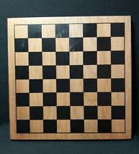 Chess Board Only. No Chess Pieces. Wooden. Reasonable Condition