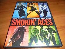 Smokin' Aces (DVD, 2007, Widescreen) Ryan Reynolds, Alicia Keys Used Smoking