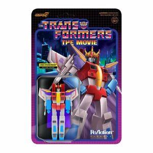 "Transformers King Starscream 3.75"" ReAction Figure Nice New Package 2021 Super 7"