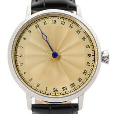 24 hour Single Hand watch with Swiss made movement by Svalbard. Limited Edition