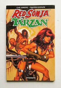 Red Sonja Tarzan Dynamite Graphic Novel Comic Book