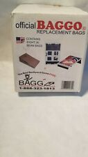 Official Baggo Inc. 2062 Replacement Bags. Contains (8) Bean Bags. Red/Navy