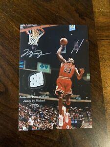 Michael Jordan Worn Jersey Piece Relic Chicago Bulls Jumpman Authentic non auto