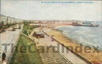 WESTON-SUPER-MARE Birnbeck Road West Parade Postcard SOMERSET Photochrom Company