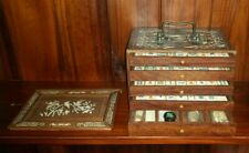 Antique Chinese Mahjong Set, includes all pieces in original condition