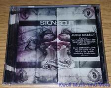 "STONE SOUR  ""Audio Secrecy""    NEW  (CD, 2010)"