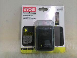 NEW Ryobi ES3000 Phone Works Moisture Meter