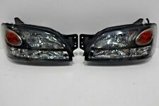 JDM Subaru LEGACY B4 BE5 BH5 BH9 BLACK HID Headlight Head Lights 1 Pairs STi WRx