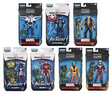 Avengers Marvel Legends Gameverse Set of 7 with Abomination BAF