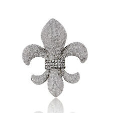 Hot Fleur de lis Hot Fashion Party Women Unisex Wedding Jewelry Brooch Pin Gift