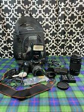 Sony Alpha DSLR A300 10.2 MP Sony DSLR Lens 75-300mm F4.5-5.6 Camera Lens Lot
