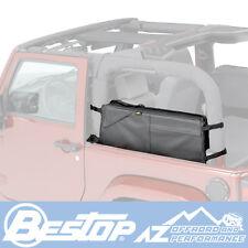 Bestop RoughRider® Saddle Bag 92-06 Jeep Wrangler YJ 54108-15 Black