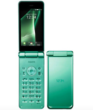 SOFTBANK NEW SHARP 601SH AQUOS KEITAI 2 ANDROID FLIP PHONE UNLOCKED LIGHT GREEN