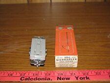 Sierraplex 1800-G Grey 15A Duplex Receptacle, 3 Wire
