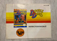 Double Dare NES Nintendo Instructions Booklet Manual Only-Game Tek
