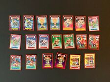 2019 Topps Garbage Pail Kids We Hate the Holidays On Demand 20 Red Card Set