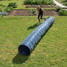 Agility Dog Tunnel Attività 60 CM x 5m Blu Fit & sano forte e robusto