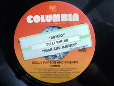 "DOLLY PARTON & FRIENDS 45 RPM 7"" - Romeo W/TITLE STRIP"