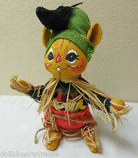 """NWTMWT Annalee 10' """"Scarecrow Mouse wTooth"""" #310304 From 2004 Cute Fall Décor"""
