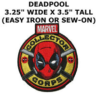 Deadpool Dead Pool Logo embroidered Iron on Patch Emblem Badge Fabric